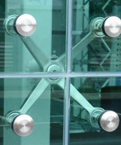 hệ mặt dựng nhôm kính spider lswindow