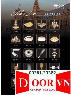 001-2 Catalogue Đèn Trang Trí Euroto - Bảng giá Euroto Lighting 2021