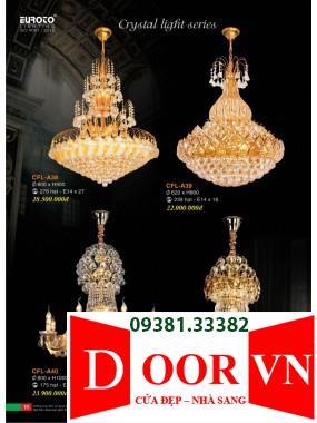 006 Catalogue Đèn Trang Trí Euroto - Bảng giá Euroto Lighting 2021