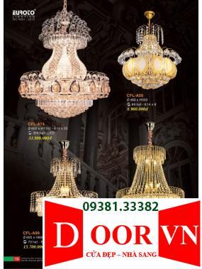 007 Catalogue Đèn Trang Trí Euroto - Bảng giá Euroto Lighting 2021