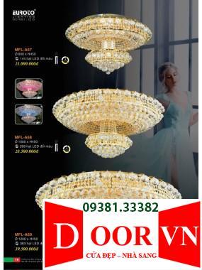 010 Catalogue Đèn Trang Trí Euroto - Bảng giá Euroto Lighting 2021