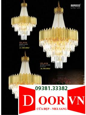 012-2 Catalogue Đèn Trang Trí Euroto - Bảng giá Euroto Lighting 2021