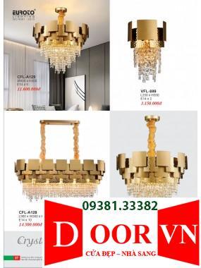 014 Catalogue Đèn Trang Trí Euroto - Bảng giá Euroto Lighting 2021