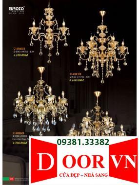 016 Catalogue Đèn Trang Trí Euroto - Bảng giá Euroto Lighting 2021