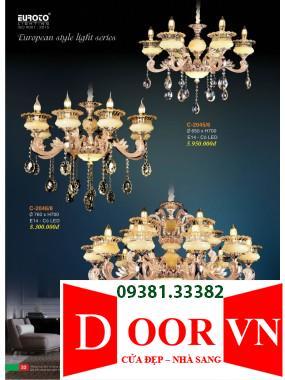 017 Catalogue Đèn Trang Trí Euroto - Bảng giá Euroto Lighting 2021