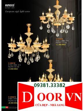 019 Catalogue Đèn Trang Trí Euroto - Bảng giá Euroto Lighting 2021