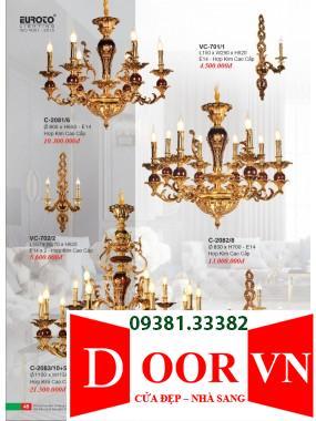 023 Catalogue Đèn Trang Trí Euroto - Bảng giá Euroto Lighting 2021