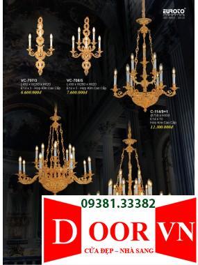 024-2 Catalogue Đèn Trang Trí Euroto - Bảng giá Euroto Lighting 2021