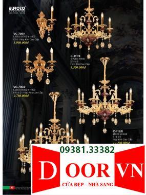 024 Catalogue Đèn Trang Trí Euroto - Bảng giá Euroto Lighting 2021