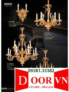 025 Catalogue Đèn Trang Trí Euroto - Bảng giá Euroto Lighting 2021