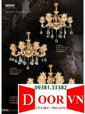 026 Catalogue Đèn Trang Trí Euroto - Bảng giá Euroto Lighting 2021