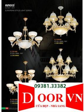 030 Catalogue Đèn Trang Trí Euroto - Bảng giá Euroto Lighting 2021