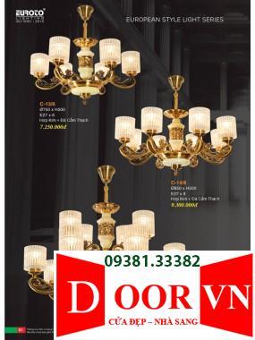 031 Catalogue Đèn Trang Trí Euroto - Bảng giá Euroto Lighting 2021