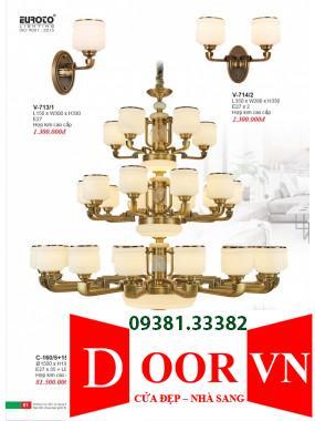 041 Catalogue Đèn Trang Trí Euroto - Bảng giá Euroto Lighting 2021
