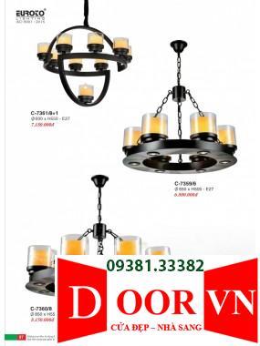 049 Catalogue Đèn Trang Trí Euroto - Bảng giá Euroto Lighting 2021