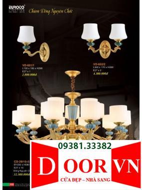 058 Catalogue Đèn Trang Trí Euroto - Bảng giá Euroto Lighting 2021