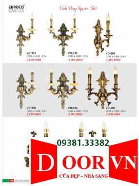 060 Catalogue Đèn Trang Trí Euroto - Bảng giá Euroto Lighting 2021