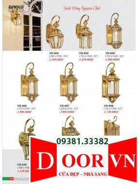 061 Catalogue Đèn Trang Trí Euroto - Bảng giá Euroto Lighting 2021