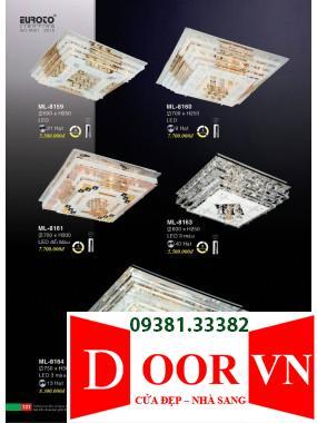 066 Catalogue Đèn Trang Trí Euroto - Bảng giá Euroto Lighting 2021
