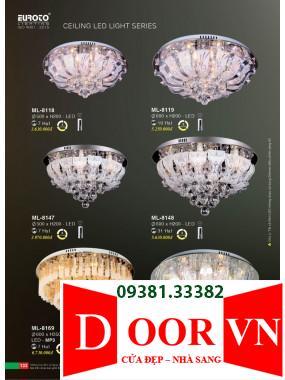 067 Catalogue Đèn Trang Trí Euroto - Bảng giá Euroto Lighting 2021