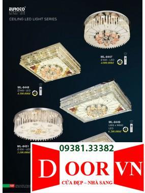 069 Catalogue Đèn Trang Trí Euroto - Bảng giá Euroto Lighting 2021