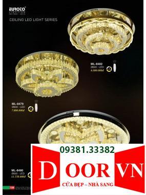 070 Catalogue Đèn Trang Trí Euroto - Bảng giá Euroto Lighting 2021