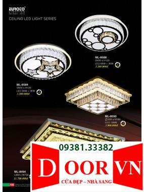 072 Catalogue Đèn Trang Trí Euroto - Bảng giá Euroto Lighting 2021