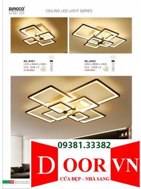 073 Catalogue Đèn Trang Trí Euroto - Bảng giá Euroto Lighting 2021