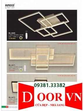 074 Catalogue Đèn Trang Trí Euroto - Bảng giá Euroto Lighting 2021