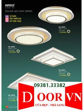 081 Catalogue Đèn Trang Trí Euroto - Bảng giá Euroto Lighting 2021