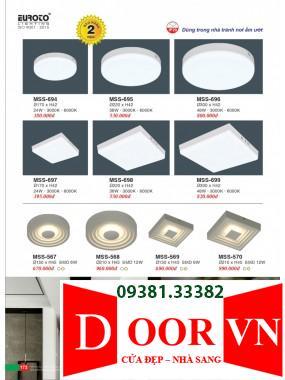 087 Catalogue Đèn Trang Trí Euroto - Bảng giá Euroto Lighting 2021