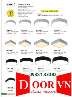089 Catalogue Đèn Trang Trí Euroto - Bảng giá Euroto Lighting 2021
