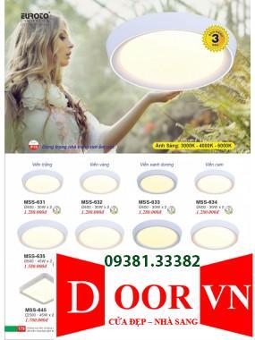 090 Catalogue Đèn Trang Trí Euroto - Bảng giá Euroto Lighting 2021