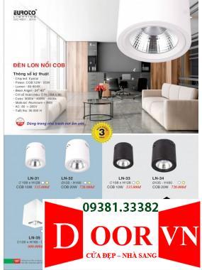 094 Catalogue Đèn Trang Trí Euroto - Bảng giá Euroto Lighting 2021