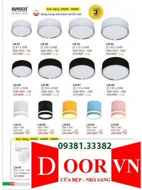 095 Catalogue Đèn Trang Trí Euroto - Bảng giá Euroto Lighting 2021
