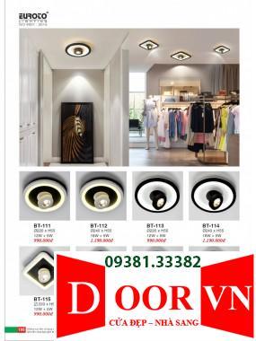 098 Catalogue Đèn Trang Trí Euroto - Bảng giá Euroto Lighting 2021
