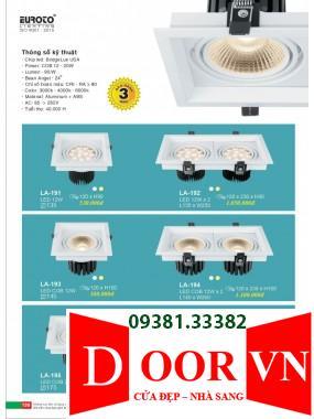 100 Catalogue Đèn Trang Trí Euroto - Bảng giá Euroto Lighting 2021