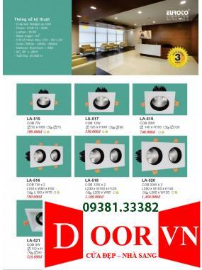 102-2 Catalogue Đèn Trang Trí Euroto - Bảng giá Euroto Lighting 2021