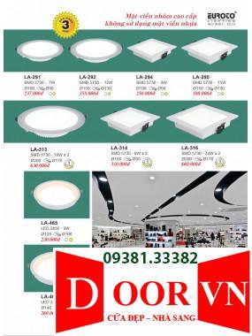 104-2 Catalogue Đèn Trang Trí Euroto - Bảng giá Euroto Lighting 2021