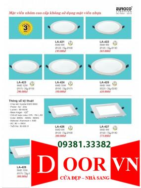 107-2 Catalogue Đèn Trang Trí Euroto - Bảng giá Euroto Lighting 2021