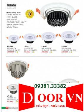 108 Catalogue Đèn Trang Trí Euroto - Bảng giá Euroto Lighting 2021
