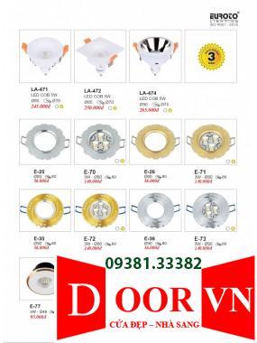 109-2 Catalogue Đèn Trang Trí Euroto - Bảng giá Euroto Lighting 2021
