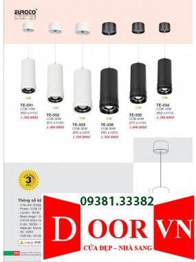 127 Catalogue Đèn Trang Trí Euroto - Bảng giá Euroto Lighting 2021